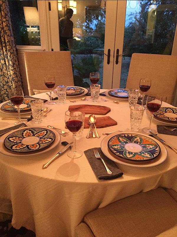 Theme Dinners - Café Collage